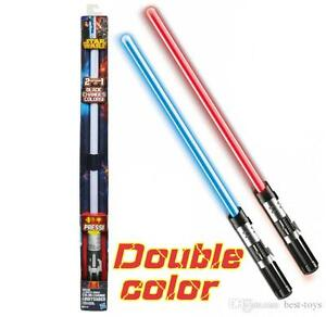 Star Wars Anakin to Darth Vader Color Change Lightsaber Toy Strathcona County Edmonton Area image 1