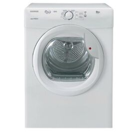 NEW GRADED !!! HOOVER 8KG VTV581NC VENTED TUMBLE DRYER - WHITE WITH 12 MONTHS WARRANTY RRP £229