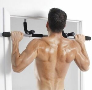 Iron Gym pull up bar - total upper body workout bar