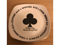 Vintage Federation Brewery Plate