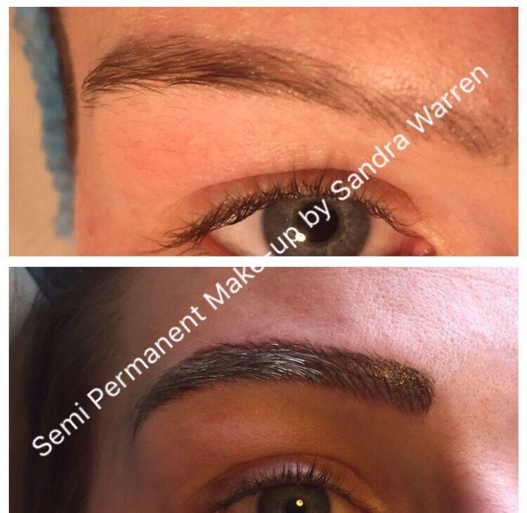 Semi Permanent Make Up Microblading Micropigmentation Eyebrows