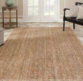 Freedom Madras Jute Rug 180x270 Natural