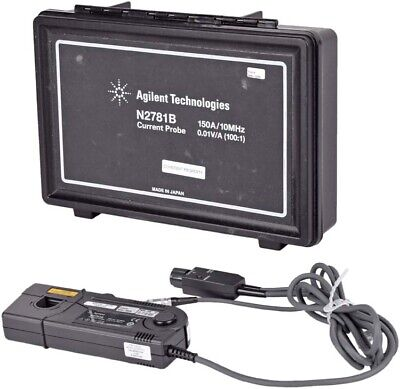 Agilent Technologies N2781b Oscilloscope Current Probe Set W Carrying Case
