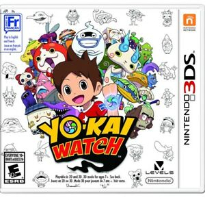 Looking for a copy of Yo Kai watch for the Nintendo 3ds