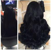 HAIR EXTENSIONS- TAPE AND FUSION