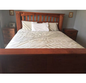 FREE DELIVERY - King Size Bed with mattress Greensborough Banyule Area Preview