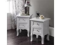 Windsor bedside tables brand new