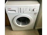 Bosch Washing Machine White