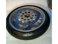 Ducati 750 Monster front and rear complete wheels