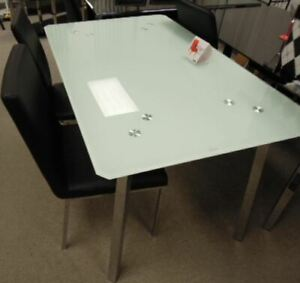 Dining table or Dining set  5 pc for extra cost, new in the box