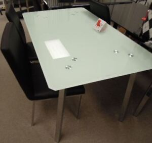 Dining table, or 5 pc dining set for extra cost