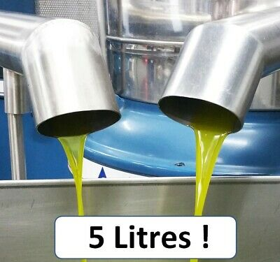 Olive Oil CERTIFIED Extra Virgin 5 L Fresh 2021 Premium Quality Unrefined