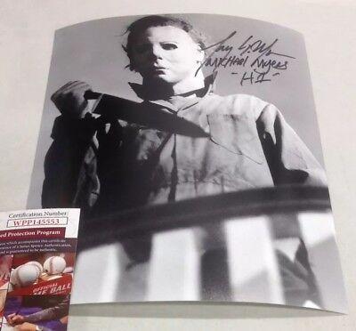 Tony Moran Autographed Signed 8x10 Photo Halloween Michael Myers - Halloween Tony Moran
