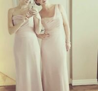 Bridesmaid Dress by Hayley Paige - Blush Style 5757 size 8