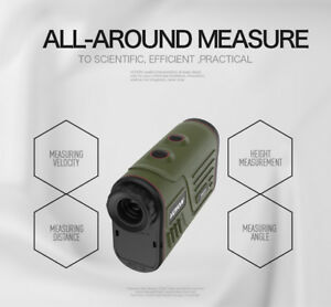 Range finder 1200m - measure distance, angle, height, and speed*