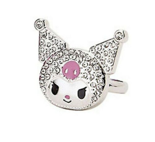 SANRIO - KUROMI  ADJUSTABLE LADIES RING - boxed