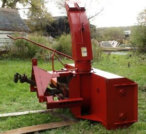 McKee 7 Foot Double Auger Snow Blower