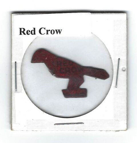 Red Crow Chewing Tobacco Tag Die Cut R310