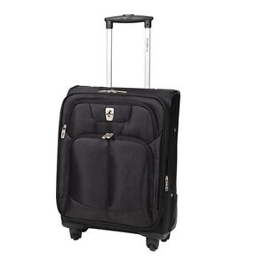 """ATLANTIC Ultra Light 21"""" Expandable Carry-on Spinner Suitcase"""