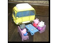 Peppa Pig mini small van camper