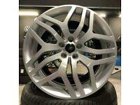 "x4 20"" RR Sport Style Alloys 5x120 Et50 Range Rover Vogue Sport Discovery 3-5"