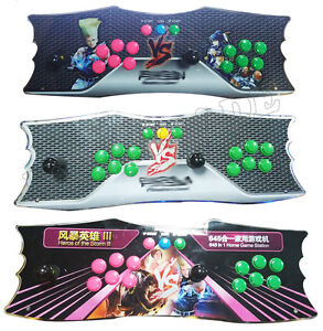 2-Player Pandora's Box 4 All-In-One 645 Game Arcade Controller!