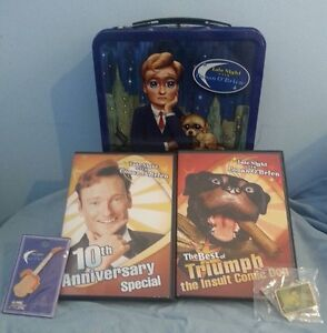 Late Night with Conan O'Brien NBC, plus pins and dvds