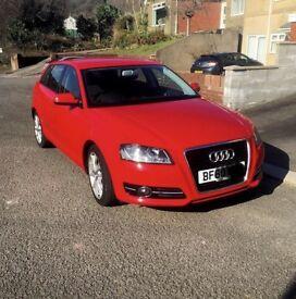 Audi A3 sportback full service history 5DR