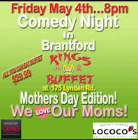 Comedy Night in Brantford!!