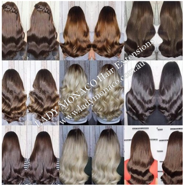 Hair Extensions Flat Track Micro Rings Tape 16 Methods
