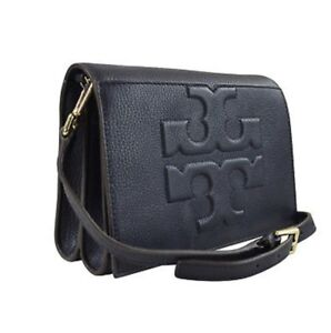 Torch Burch Crossbody - Black leather - SOLD PENDING PICK UP