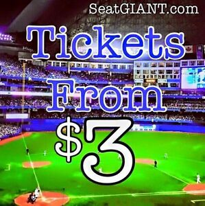 BLUE JAYS TICKETS FROM $3!