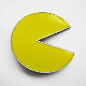 Pac-Man-Yellow-Arcade-Game-Metal-Belt-Buckle