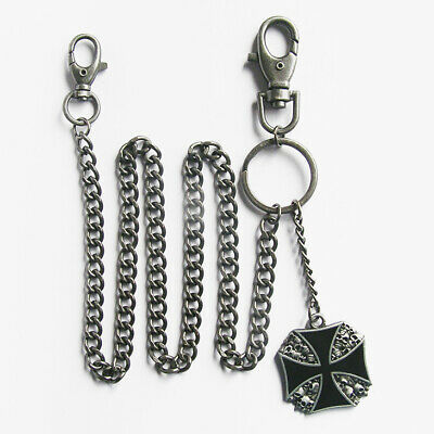 IRON CROSS Wallet Chain Schlüsselkette Kette Geldbörse Biker Rockabilly Harley Biker Wallets