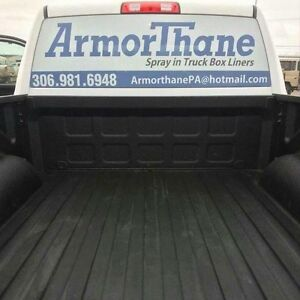 Armorthane Spray in Truck Box Liners