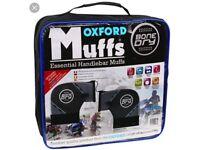 Brand New - Oxford Bone Dry motorcycle muffs