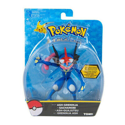 Tomy Ash-Greninja Pokemon Action Figure Boxed Pokemon Monster toy Perfect Gifts