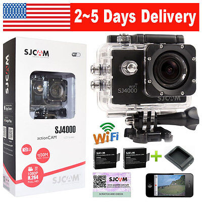 100% Original SJCAM SJ4000 WiFi 12MP HD 1080P Sport DV Action Camera Waterproof