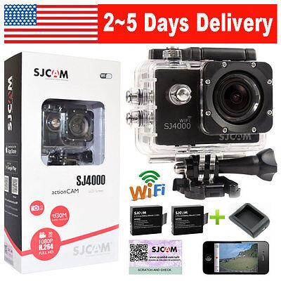 100% Original SJCAM SJ4000 WiFi 12MP HD 1080P Sport DV Action Camera Waterproof