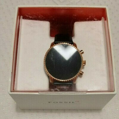 In Original Box w/ Accessories Working Fossil Q Explorist 4 Android Smartwatch
