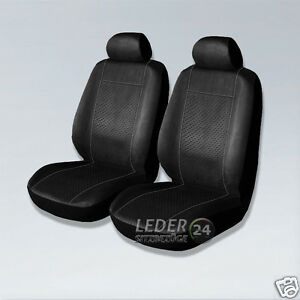 alcantara housse de si ge cuir noir dacia logan sandero duster ebay. Black Bedroom Furniture Sets. Home Design Ideas