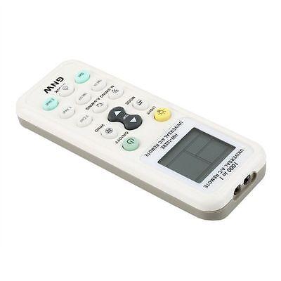 New Universal Air Conditioner LCD A/C Muli Remote Control Controller White
