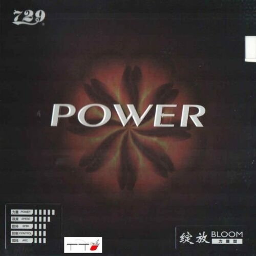 729 Bloom POWER Table Tennis Rubber 2.2mm 45 Degree