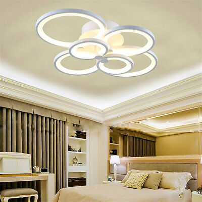 Acrylic Modern LED Lamp Chandelier Light For Living Room Bed