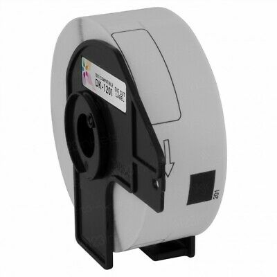 6 Rolls Dk-1201 Brother-compatible Labels Bpa Free 1 Reusable Cartridge