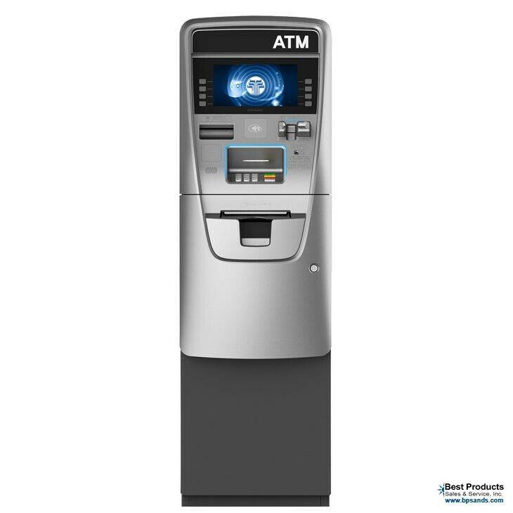 Nautilus Hyosung Halo II (2)  ATM Machine with Processing. EMV & ADA compliant.