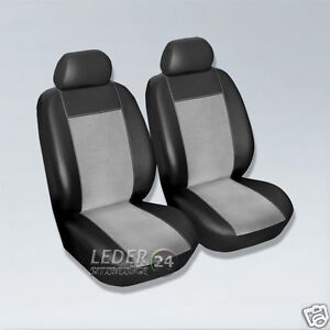 housses de si 200 ge alcantara cuir simili noir gris seat ibiza 6j 1p 1m ebay