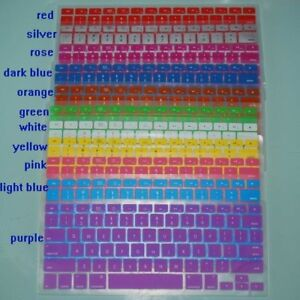 APPLE MAC 13 or PRO Cool Coloured Key Covers NEW