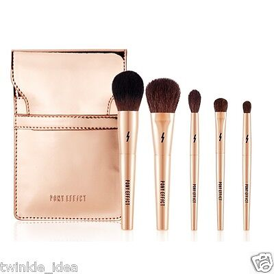 Pony Effect MINI Make-Up Brush Set 5pcs K-beauty Meme box Makeup Brush