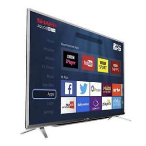 """LED TV-60""""-SMART WIFI-4K ULTRA HD -SHARP-INBOX-$599.9.NO TAX"""